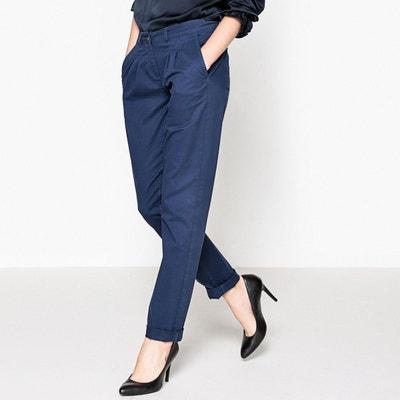 Pantalon chino à pince La Redoute Collections