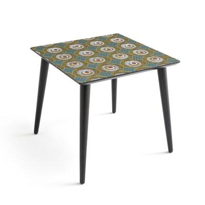 Tavolo basso quadrato, ripiano fantasia NOMADO Tavolo basso quadrato, ripiano fantasia NOMADO La Redoute Interieurs