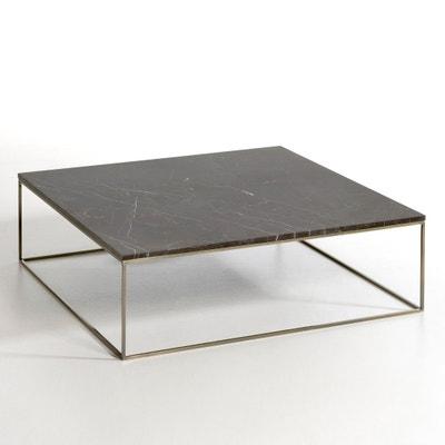 Table basse effet laiton vieilli/marbre, Mahaut Table basse effet laiton vieilli/marbre, Mahaut AM.PM.