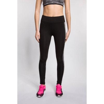 Legging de sport bi-color empiècement latéral BODYSKULT
