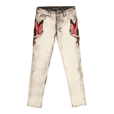 Jeans Super Skinny Effet Délavé GUESS KIDS c4d749c996f