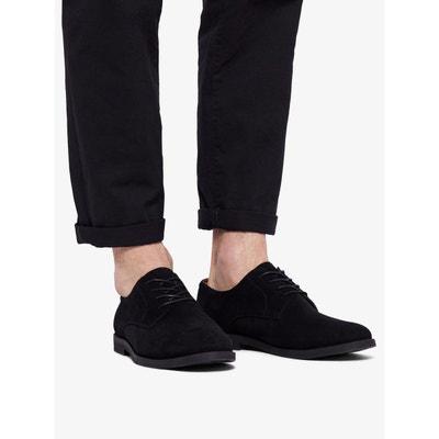 daim homme Chaussures La en noir solde Redoute 1U4xCqw