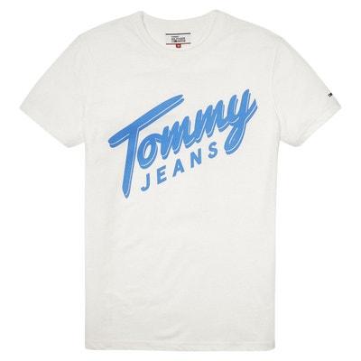 Tee shirt col rond imprimé, manches courtes TOMMY JEANS