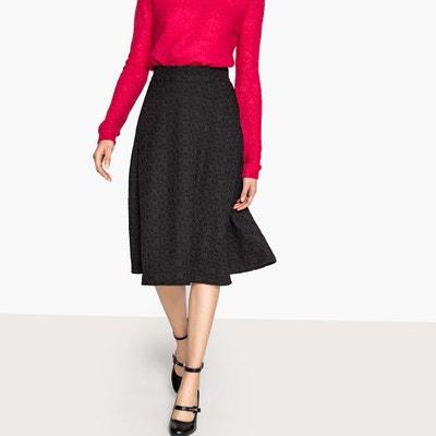 Jacquard Midi Skirt Jacquard Midi Skirt MADEMOISELLE R