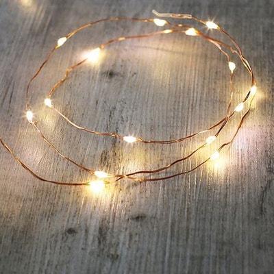 Guirlande Lumineuse Cuivre 20 Micro LED SKYLANTERN