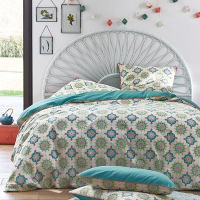 Seyma Printed Cotton Duvet Cover La Redoute Interieurs