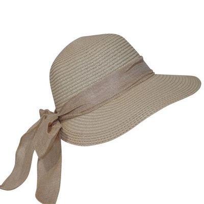 Chapeau casquette femme beige Salla CHAPEAU-TENDANCE