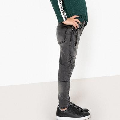 Jean slim avec découpes genoux 3-12 ans Jean slim avec découpes genoux 3-12 ans La Redoute Collections