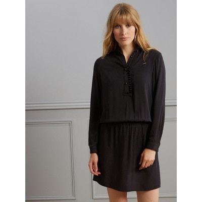ec76f187f2931 Robe-chemise femme détails froufrous Robe-chemise femme détails froufrous  CYRILLUS