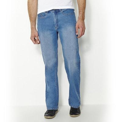 Jeans stretch confortáveis, cós elástico, comp. 1 Jeans stretch confortáveis, cós elástico, comp. 1 CASTALUNA FOR MEN