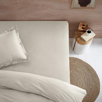 Organic Cotton Jersey Fitted Sheet Organic Cotton Jersey Fitted Sheet La Redoute Interieurs