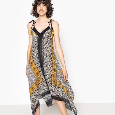 Платье с открытой спинкой с рисунком Платье с открытой спинкой с рисунком La Redoute Collections