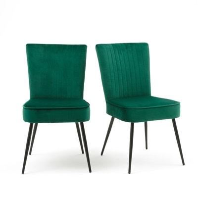 Chaise rétro style 50's (lot de 2), RONDA Chaise rétro style 50's (lot de 2), RONDA LA REDOUTE INTERIEURS
