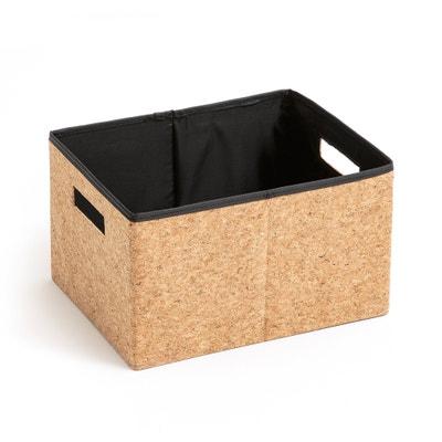 Składane pudełko z korka, rozmiar S, MASAO Składane pudełko z korka, rozmiar S, MASAO La Redoute Interieurs