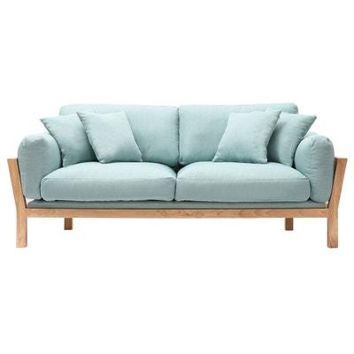 Canapé design 3 places déhoussable pieds bois KYO MILIBOO