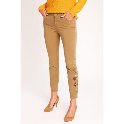 Castaluna Pantalon En Slim Solde Taille Cigarette Grande Femme RRZHr