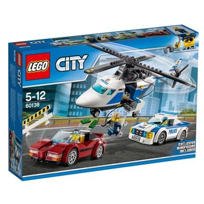 La course-poursuite en hélicoptère 60138 LEGO