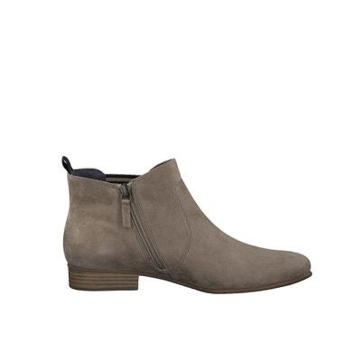 Malika Leather Ankle Boots TAMARIS