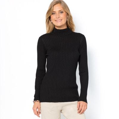 Jersey de cuello alto, 50% lana merina ANNE WEYBURN