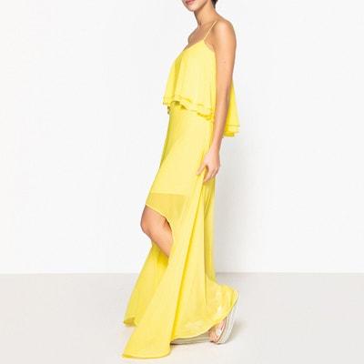 Festliches, langes Kleid mit schmalen Trägern Festliches, langes Kleid mit schmalen Trägern LIU JO