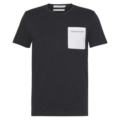 T-shirt met ronde hals en korte mouwen T-shirt met ronde hals en korte mouwen CALVIN KLEIN JEANS