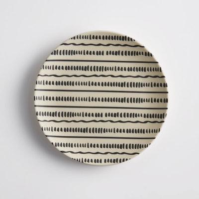 Set of 4 Bamboska Bamboo Dessert Plates La Redoute Interieurs