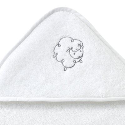 Ensemble éponge bébé cape de bain LITTLE SHEEP La Redoute Interieurs