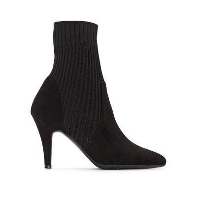 Boots a punta con calza con tacco Boots a punta con calza con tacco La Redoute Collections
