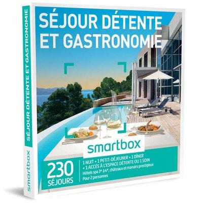 Séjour détente et gastronomie - Coffret Cadeau Séjour détente et gastronomie - Coffret Cadeau SMARTBOX