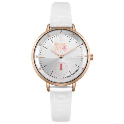 Montre analogique bracelet cuir Luxe Montre analogique bracelet cuir Luxe SUPERDRY