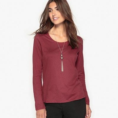 Plain, Long-Sleeved, Crew-Neck T-Shirt Plain, Long-Sleeved, Crew-Neck T-Shirt ANNE WEYBURN