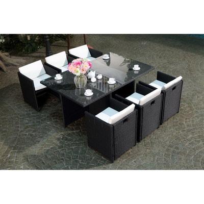 Ensemble table, chaise de jardin Concept usine   La Redoute