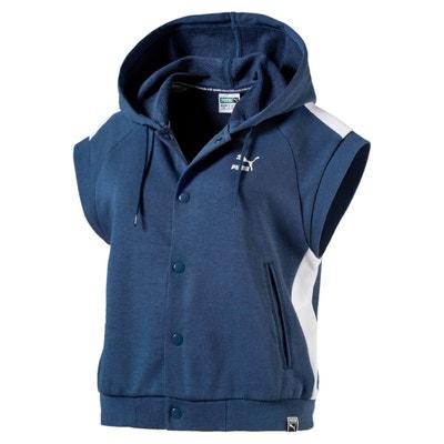 Sweat à capuche Classics T7 Logo sans manche pour femme PUMA 9654f12c894