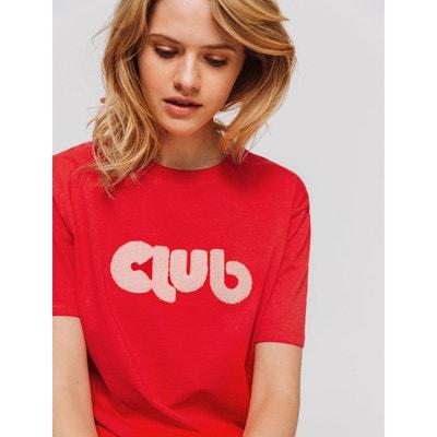 T-shirt à message 'Club' BIZZBEE