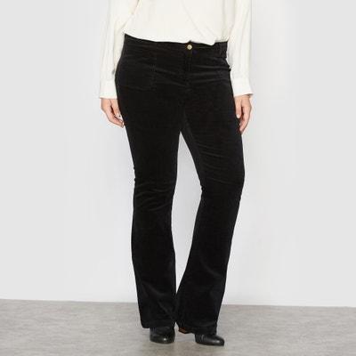 Pantalon velours flare CASTALUNA