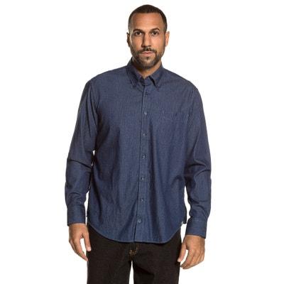 Camisa lisa de manga larga JP1880