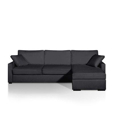 Canapé d'angle lit, simili, latex, Timor La Redoute Interieurs