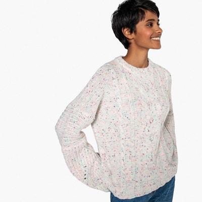 Pull maille moulinée, laine Pull maille moulinée, laine La Redoute Collections