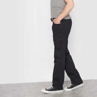 Schwarze Stretch-Jeans, teilelastischer Bund Schwarze Stretch-Jeans, teilelastischer Bund CASTALUNA FOR MEN