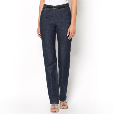 "Straight Hipster Waist Jeans, Length 30.5"" Straight Hipster Waist Jeans, Length 30.5"" ANNE WEYBURN"
