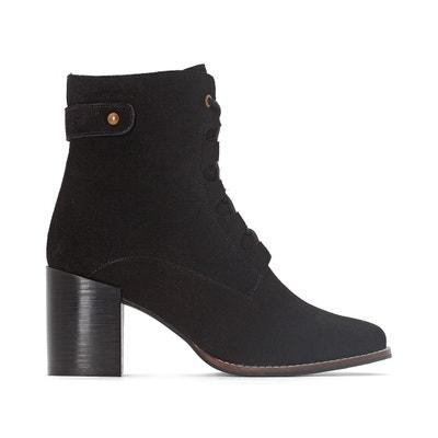 Boots in pelle con lacci MADEMOISELLE R