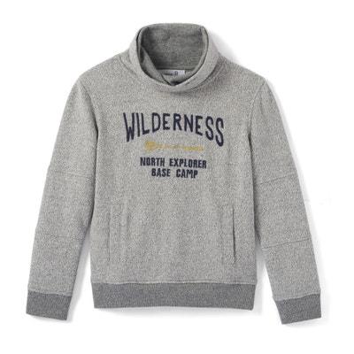 Sweatshirt mit Snoodkragen, 3-12 Jahre La Redoute Collections