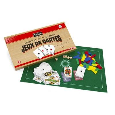 Coffret de jeux de cartes JEUJURA