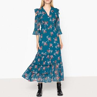 Bedrucktes Kleid mit Volants Bedrucktes Kleid mit Volants LIU JO