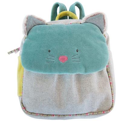 Sac à dos chat bleu Les Pachats 660070 Sac à dos chat bleu Les Pachats 660070 MOULIN ROTY