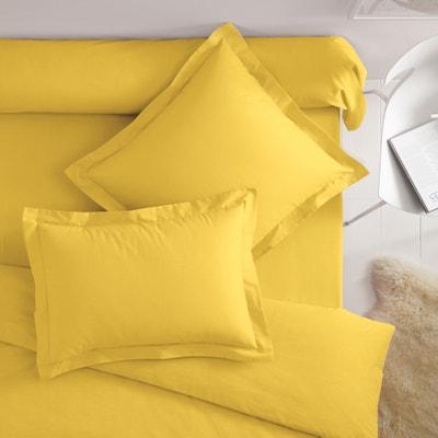 Taies d'oreiller polyester/coton(polycoton) à volant plat Taies d'oreiller polyester/coton(polycoton) à volant plat SCENARIO