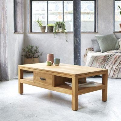 Table basse en bois de teck 110x60 Vertigo Table basse en bois de teck 110x60 Vertigo TIKAMOON