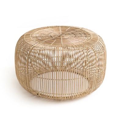 Mesa de apoio redonda, em bambu, BANGOR Mesa de apoio redonda, em bambu, BANGOR La Redoute Interieurs