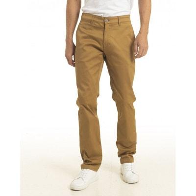 Pantalon droit, regular homme en solde   La Redoute 294b180c5357