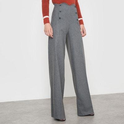 Pantalon à pont Coralie Marabelle x La Redoute